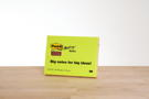 <font color=red>A K T I O N </font><br />Super Sticky Big Notes 4x45Bl.4 Farben ass. 149x200mm